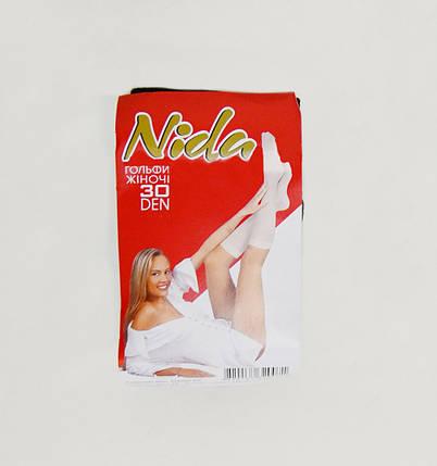 Гольфы «Nida» 30 den Черные (Арт. 00159), фото 2