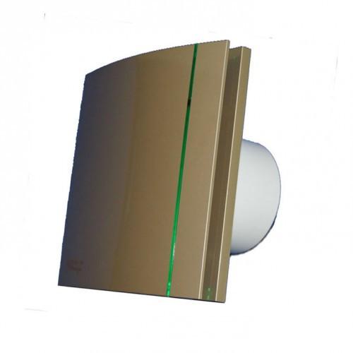 Вытяжной вентилятор Soler&Palau SILENT-100 CZ CHAMPAGNE DESIGN -4C