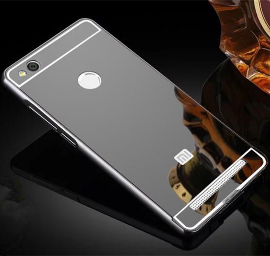 Чехол для Xiaomi Redmi 3 Pro / Redmi 3S зеркальный черный, фото 1