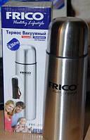 ТЕРМОС НЕРЖАВЕЙКА 0,35 Л. FRICO FRU-211 , термос питьевой , походный, туристический