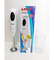 Блендер ручной погружной A-Plus HB-1578 350w с чашей, миксеры, блендеры, кофемолки, товары для кухни