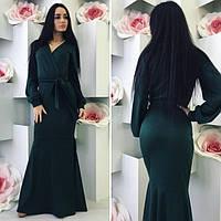 Женское платье длинное Лиза