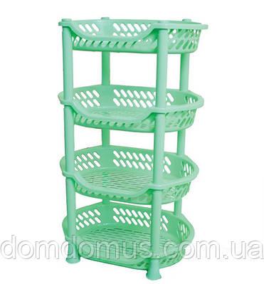 Этажерка для овощей Efe Plastics, зеленая