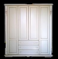 Шкаф из массива Неаполь (200/230h/60)белый