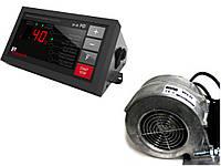 Комплект автоматики котла KG Elektronik SP-30 PID + вентилятор WPA X2