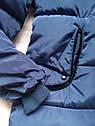 Тепла зимова куртка на дівчинку підлітка Розмір 44-46, фото 3