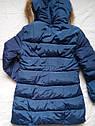 Теплая зимняя куртка на девочку подростка Размер 44-46, фото 4