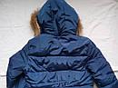 Тепла зимова куртка на дівчинку підлітка Розмір 44-46, фото 5