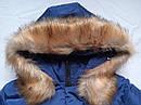 Тепла зимова куртка на дівчинку підлітка Розмір 44-46, фото 6