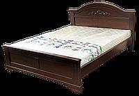Кровать из дерева Флоренция двуспальная венге