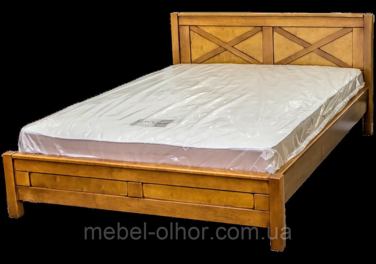 Деревянная кровать Глория (140*200) (орех)