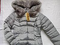 Теплая зимняя куртка на девочку подростка Размер 44-46