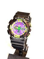 Многофункциональные часы Casio G-Shock Protection GA-110 , кварцевые, мужские, спортивные, наручные