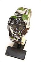 Многофункциональные часы Casio G-Shock GA-100 Protection (Камуфляж) , кварцевые, мужские, спортивные, наручные, фото 1