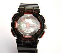 Многофункциональные часы Casio G-Shock GA-110 (мульти цвет), кварцевые, мужские, спортивные, наручные