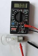 Цифровой мультиметр тестер DT-832В, измерительные приборы, мультиметры, товары для дома