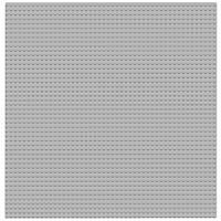 LEGO Classic Серая базовая пластина Gray Baseplate 10701