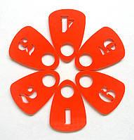 Номерки для гардероба оранжевые