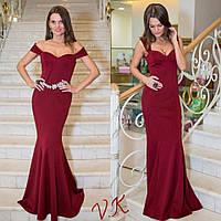 Женское стильное вечернее платье (расцветки)