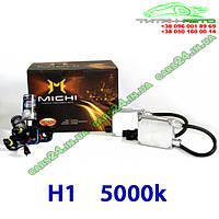 Ксенон MICHI H1 5000k 35W 12v (комплект)