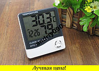 Метеостанция, Часы, Гигрометр, Влагометр HTC-1, фото 1
