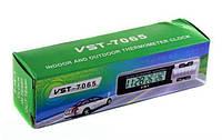 Автомобильные часы с термометром vst-7065, товары для авто любителей