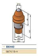 Зуб (резец) скальный ВКН40 (bkh40)
