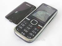 Корпус Nokia C5 00 с клавиатурой чёрный class AAA