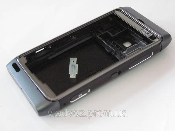 Корпус для телефона Nokia N8, N 8 чёрный class AAA, фото 2