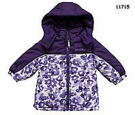 Демисезонная куртка для девочки. 12, 18  мес