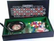 Набор рулетка и мини покер с фишками Duke 38-2820