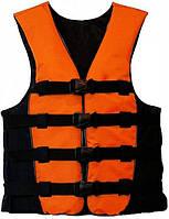 """Спасательный жилет """"JET SPORT ORANGE"""" (для охоты, для рыбалки), товары для спасения на воде, безопасность"""