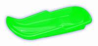 Детские пластиковые санки PLAST KON Simple зеленые ТМ PLAST KON SAN-00-50