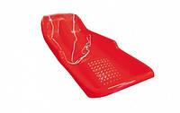Детские пластиковые санки PLAST KON Simple красные ТМ PLAST KON SAN-00-49