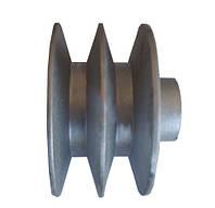 Шкив приводной двухручьевой на вал Ø 25 (Ø 85)