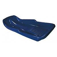 Детские пластиковые санки PLAST KON Simple синие ТМ PLAST KON SAN-00-51
