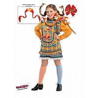 """Детский карнавальный костюм для девочки """"Пеппи"""" 6 лет ТМ Veneziano 5062"""