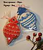 Новогодние пряники в пакетике с бантиком, фото 4