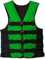 """Спасательный жилет """" GREEN"""" (для зимних и летних развлечений) , товары для спасения на воде, безопасность"""