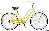 Велосипед женский Schwinn Slik Chik, 2017, желтый