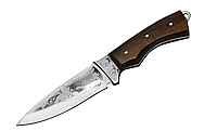 """Нож охотничий """"Крокодил"""", кожанный чехол, ножи для охоты и рыбалки"""