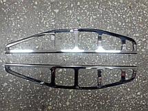 Накладки на задние фонари (стопы) Fiat Doblo 2002-2006