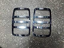 Накладки на задние фонари Volkswagen Caddy