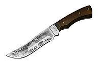 """Нож охотничий """"Сохатый"""", кожанный чехол, деревянная рукоять, ножи для охоты"""