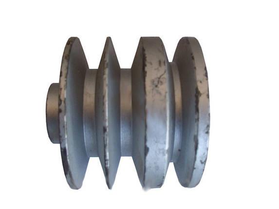 Шкив приводной трехручьевой на вал Ø 25 (Ø 150), фото 2