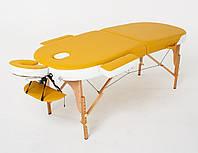 Массажный стол RelaxLine Sahara 50117 (желтыйбелый)
