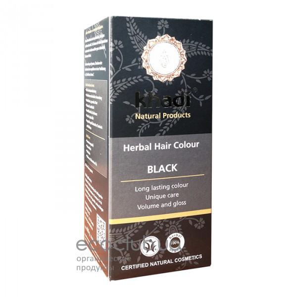 Краска для волос Schwarz Черный Khadi