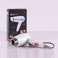 Фен дорожный Gemei 1739 1200Вт , приборы для укладки волос, красота и здоровье
