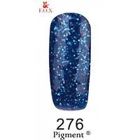 Гель-лак F.O.X. № 276 глубокий синий с синим блеском, 6 ml