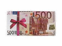 Конверт для денег 500 евро (Патриотические открытки)
